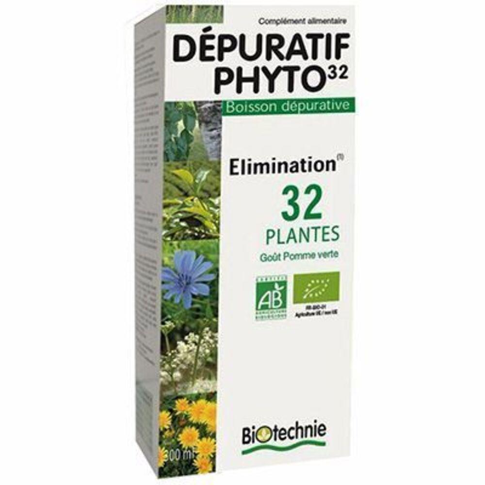 Dépuratif phyto 32 bio - 300.0 ml - biotechnie -123075