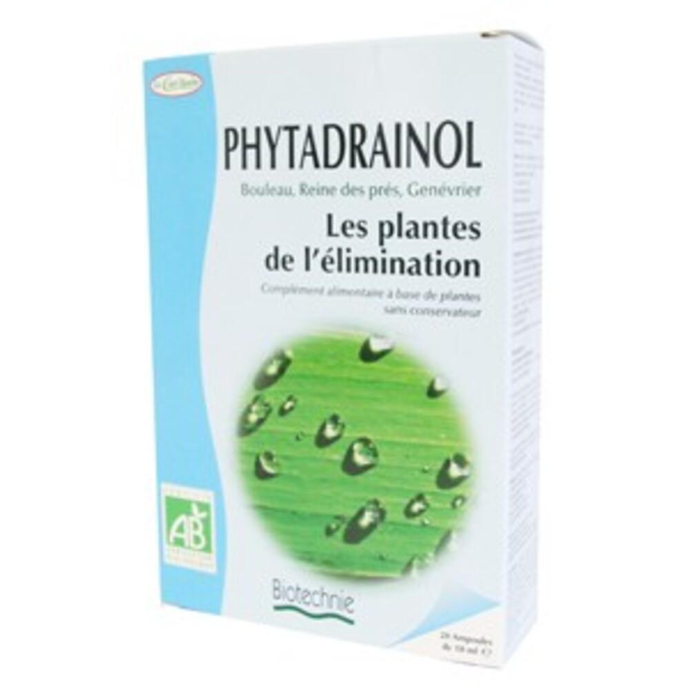 Dépuratif phyto 32 (phytadrainol) bio - 20 ampoules - divers - biotechnie la cour'tisane -136595