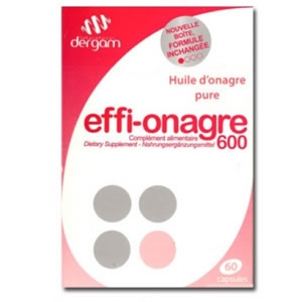 Dergam effi-onagre - 60 capsules - dergam -197347