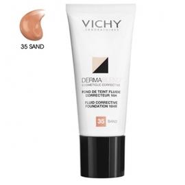 Dermablend fond de teint fluide 35 sand - 30.0 ml - teint - vichy Défauts cutanés légers à modérés-83448