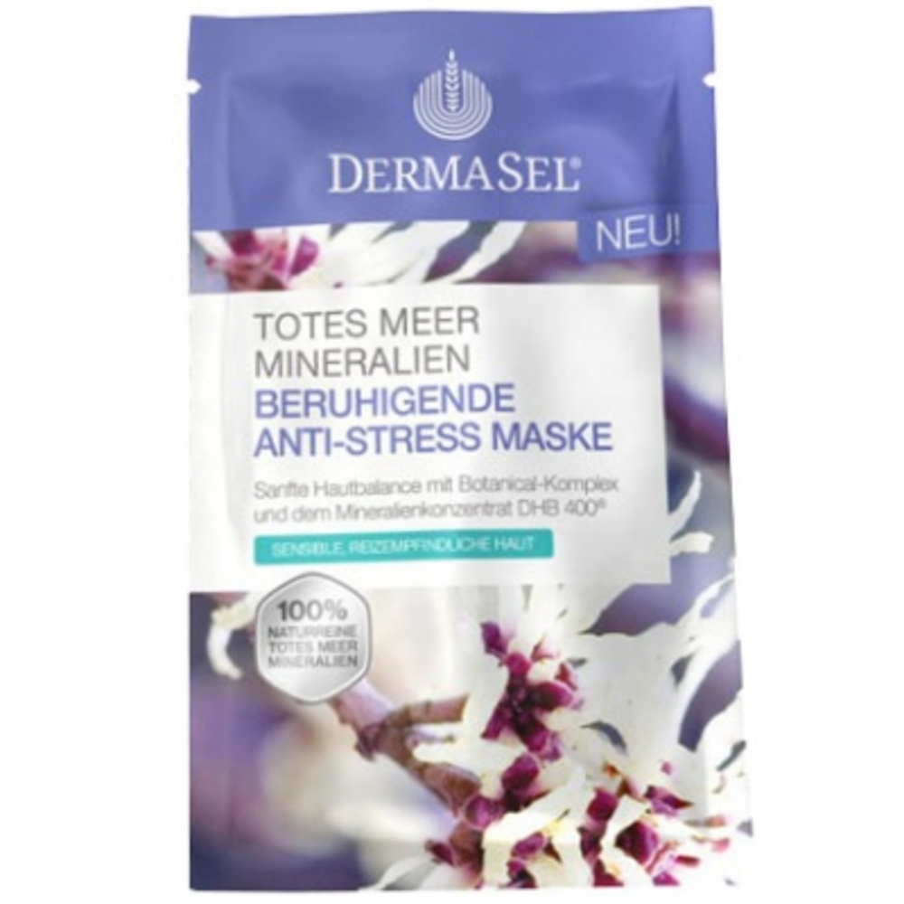 DERMASEL Masque Anti-stress - 12ml - Dermasel -204930