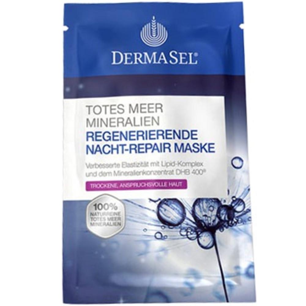 Dermasel masque réparateur de nuit - 12ml - dermasel -204931