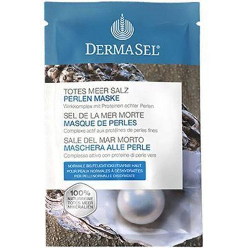 Dermasel sel de la mer morte masque de perles 12ml - dermasel -225346