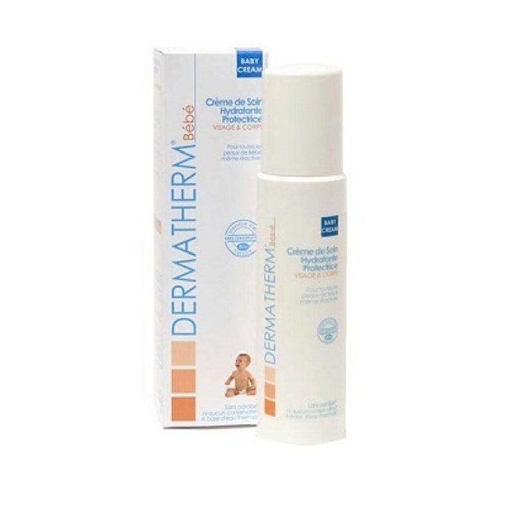 Dermatherm babycream crème de soin - 150.0 ml - bébé 150ml visage, corps et cheveux - dermatherm Crème de Soin Hydratante et protectrice-108485