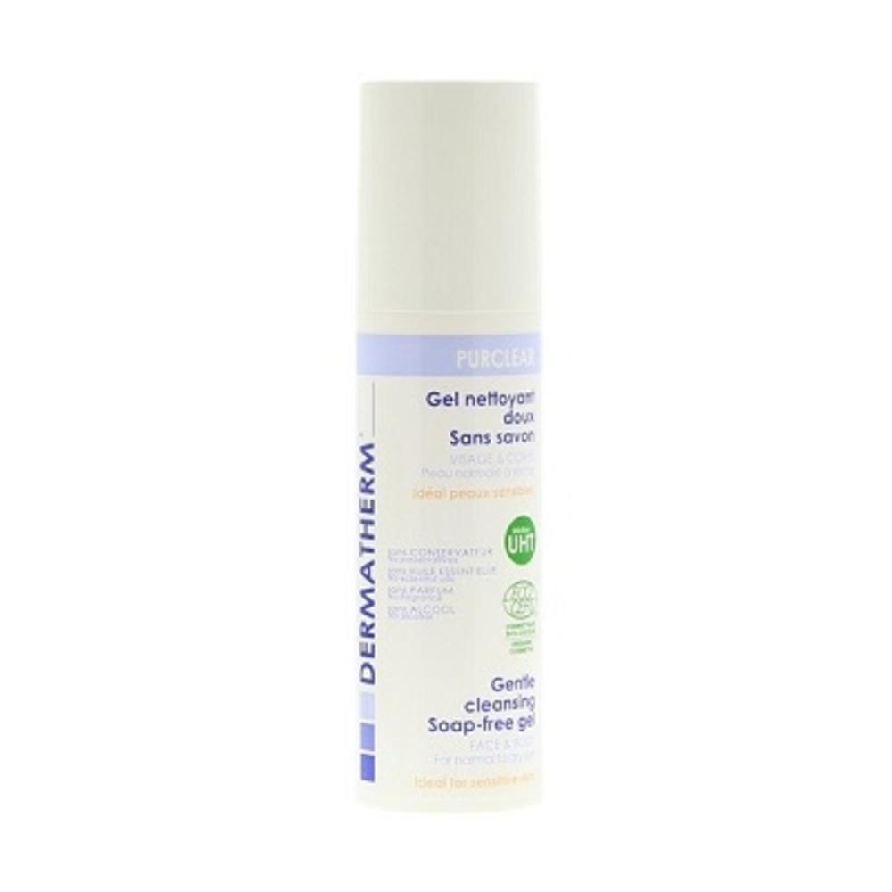 Dermatherm purclear gel nettoyant doux - 150.0 ml - famille - dermatherm Nettoyant Doux sans Savon-108472