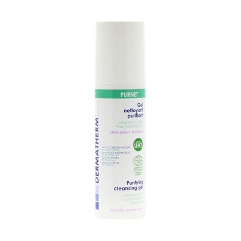 Dermatherm purnet gel nettoyant purifiant - 150.0 ml - famille - dermatherm Gel Nettoyant Purifiant-108473