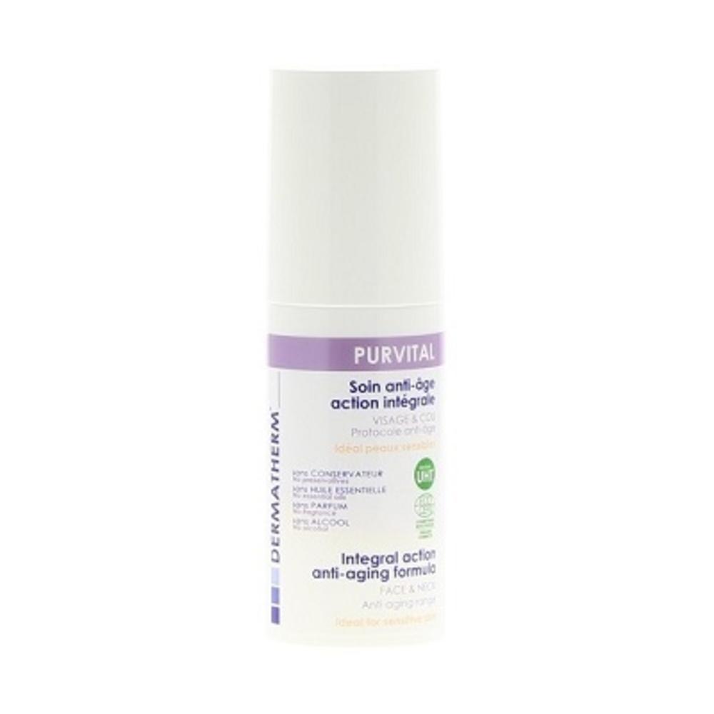 Dermatherm purvital soin anti-âge intégral - 50.0 ml - famille - dermatherm Soin Anti-Age Action Intégrale Visage et Cou-108477