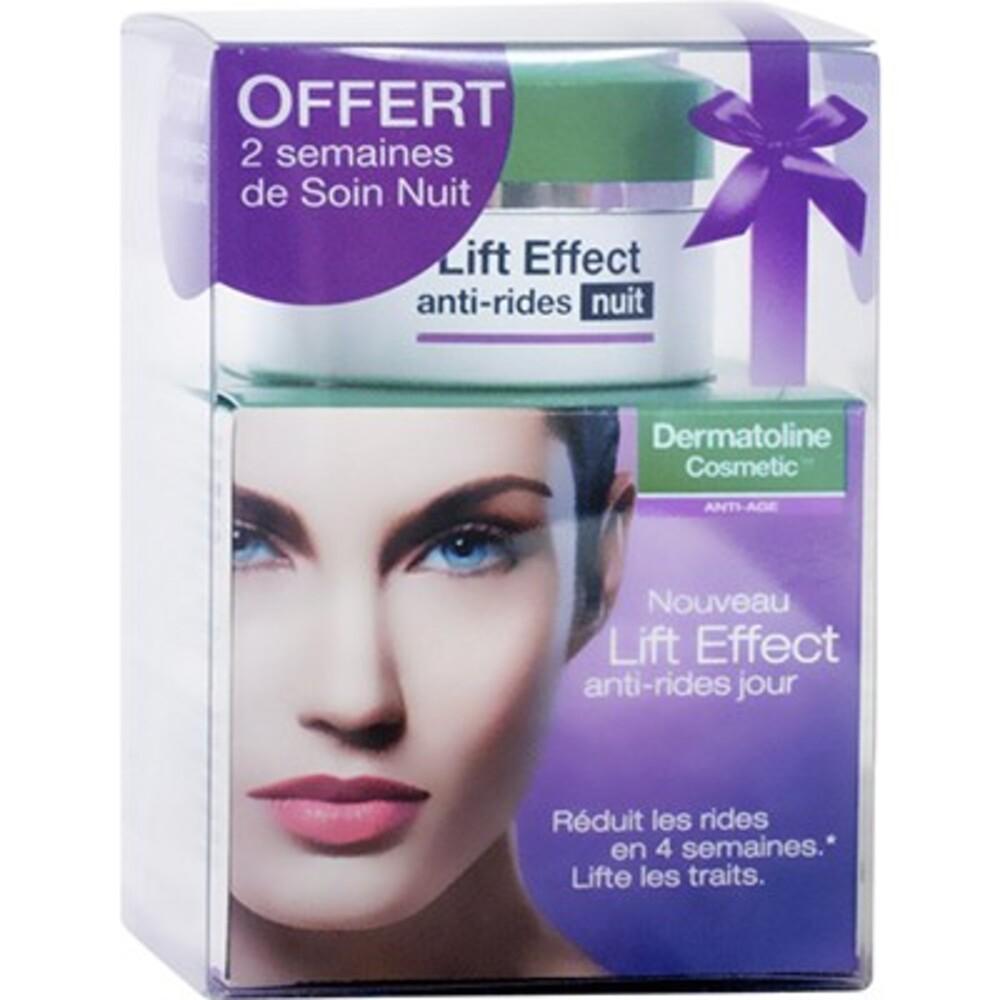 Dermatoline cosmetic lift effect anti-rides jour 50ml + nuit 15ml offert - dermatoline cosmetic -213318