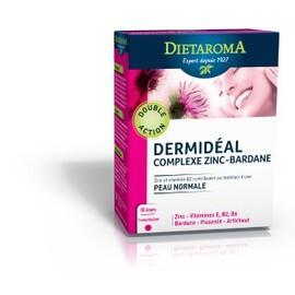Dermidéal (ex complexe zinc / bardane) - 30.0  - beauté/femme/minceur - diétaroma Pureté de la peau-6442
