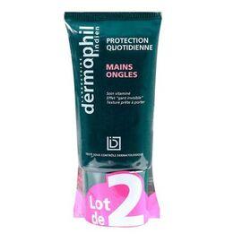 Dermophil indien crème mains et ongles - 2x 50 ml - dermophil indien -211060