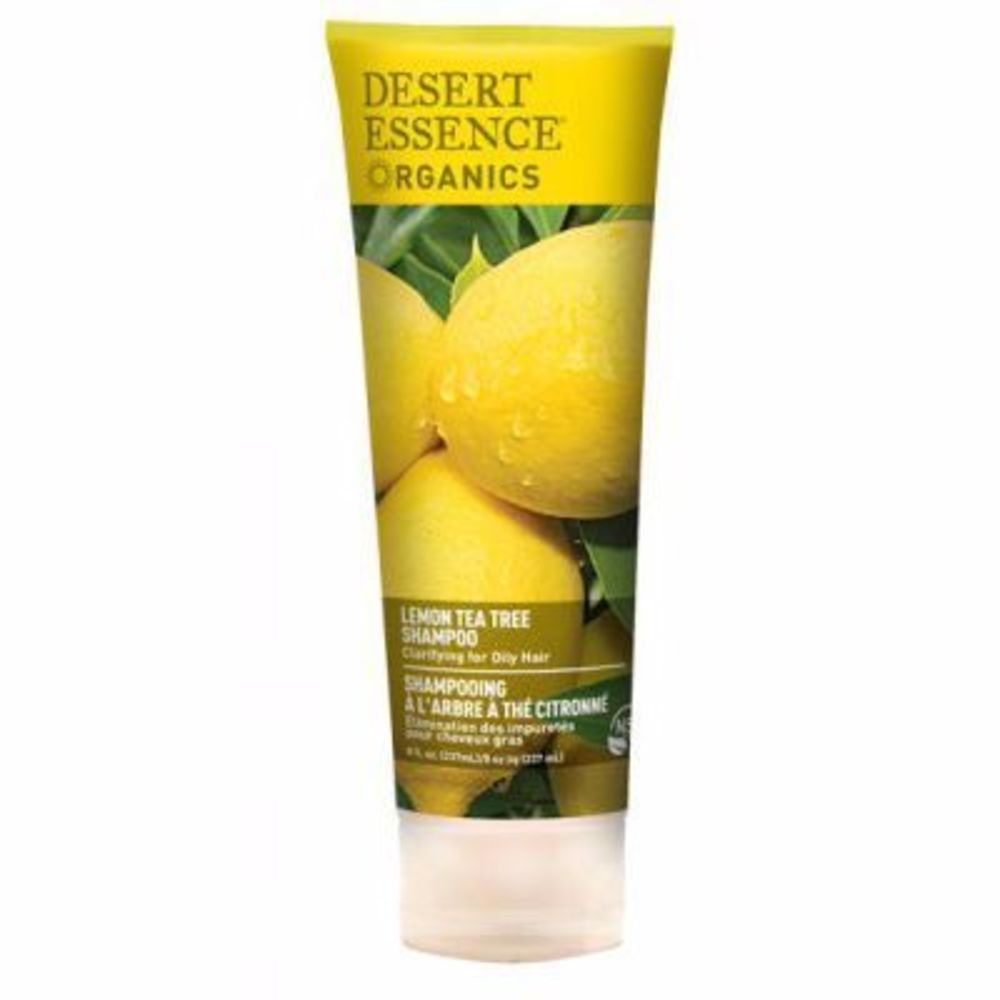 Desert essence shampooing citron 237ml - desert essence -216620