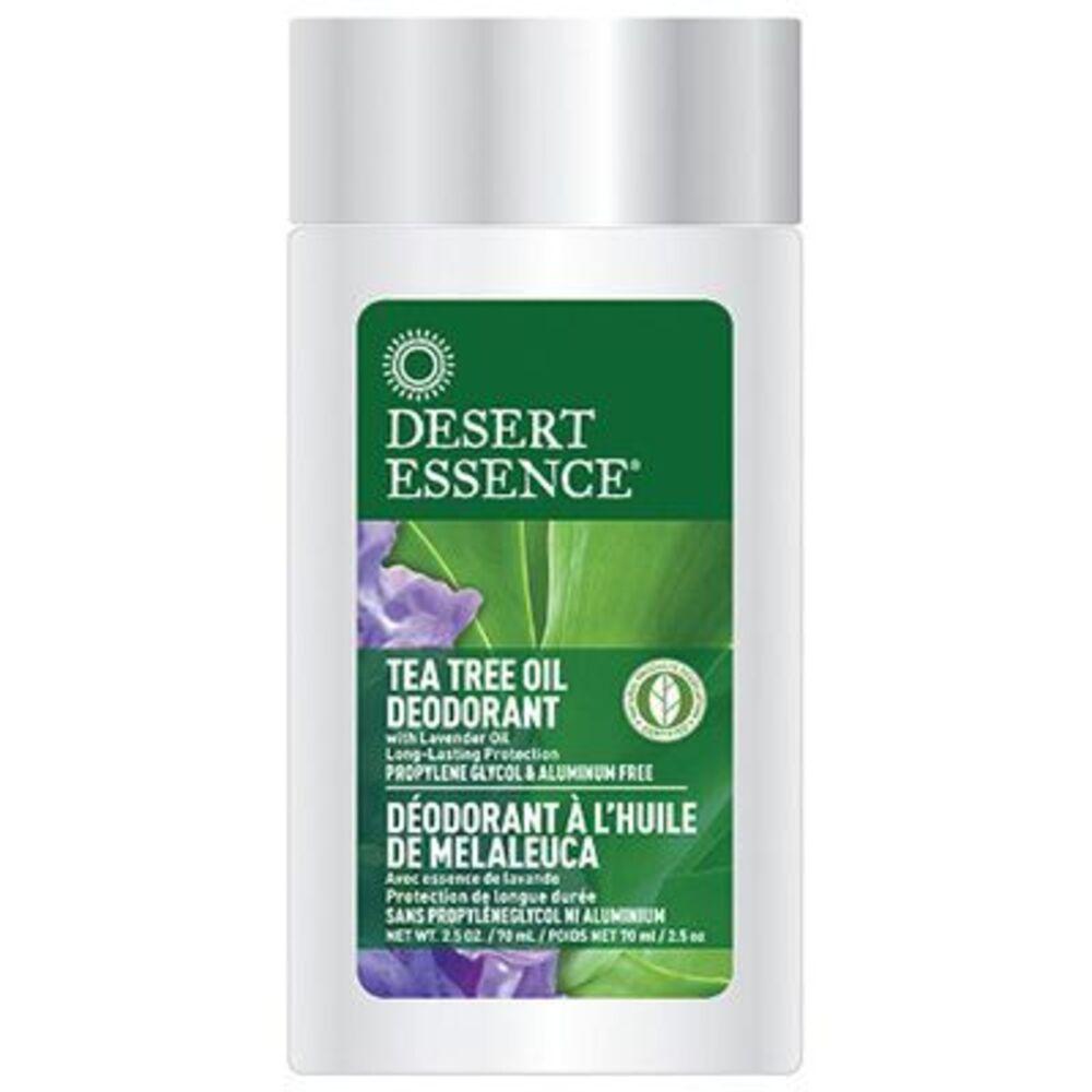 DESERT ESSENCE Stick Déodorant à l'Huile de Melaleuca 70ml - Desert Essence -221581
