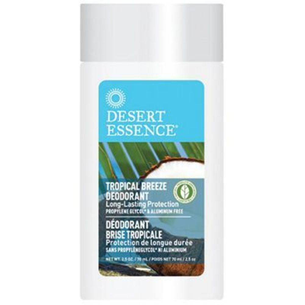 Desert essence stick déodorant brise tropicale 70ml - desert essence -221583