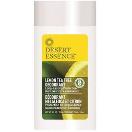 Desert essence stick déodorant melaleuca et citron 70ml - desert essence -221585