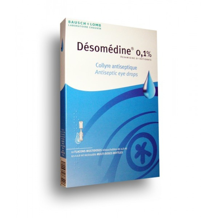 Desomedine 0,1% collyre - 10 doses Bausch & lomb-192854