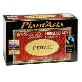 Détente max havelaar - 20.0 unites - thés bio - plant'asia -16212
