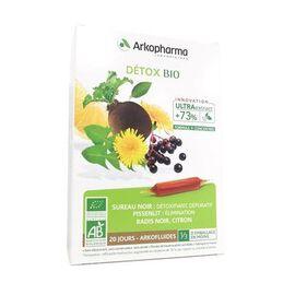 Détox bio 20 ampoules - arkopharma -225918
