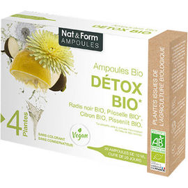 Détox bio ampoules bio - nat & form -223711