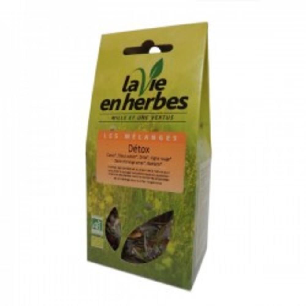 Détox bio - pochette vrac 40 g - divers - la vie en herbes -189335