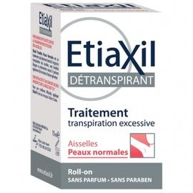 Détranspirant aisselles peaux normales roll-on - 15.0 ml - etiaxil -145634