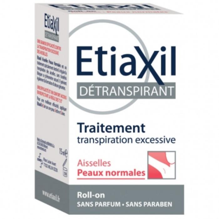 Détranspirant aisselles peaux normales roll-on Etiaxil-145634