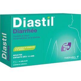 Diastil diarrhée adultes 10 gélules - therabel -225572