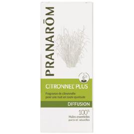 Diffusion citronnel' plus - 30.0 ml - synergies d'huiles essentielles - pranarom Pour une nuit paisible sans piqûres-12427