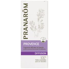Diffusion provence - 30.0 ml - synergies d'huiles essentielles - pranarom Ambiance provençale. Délicates fragances de lavande et de romarin-12429