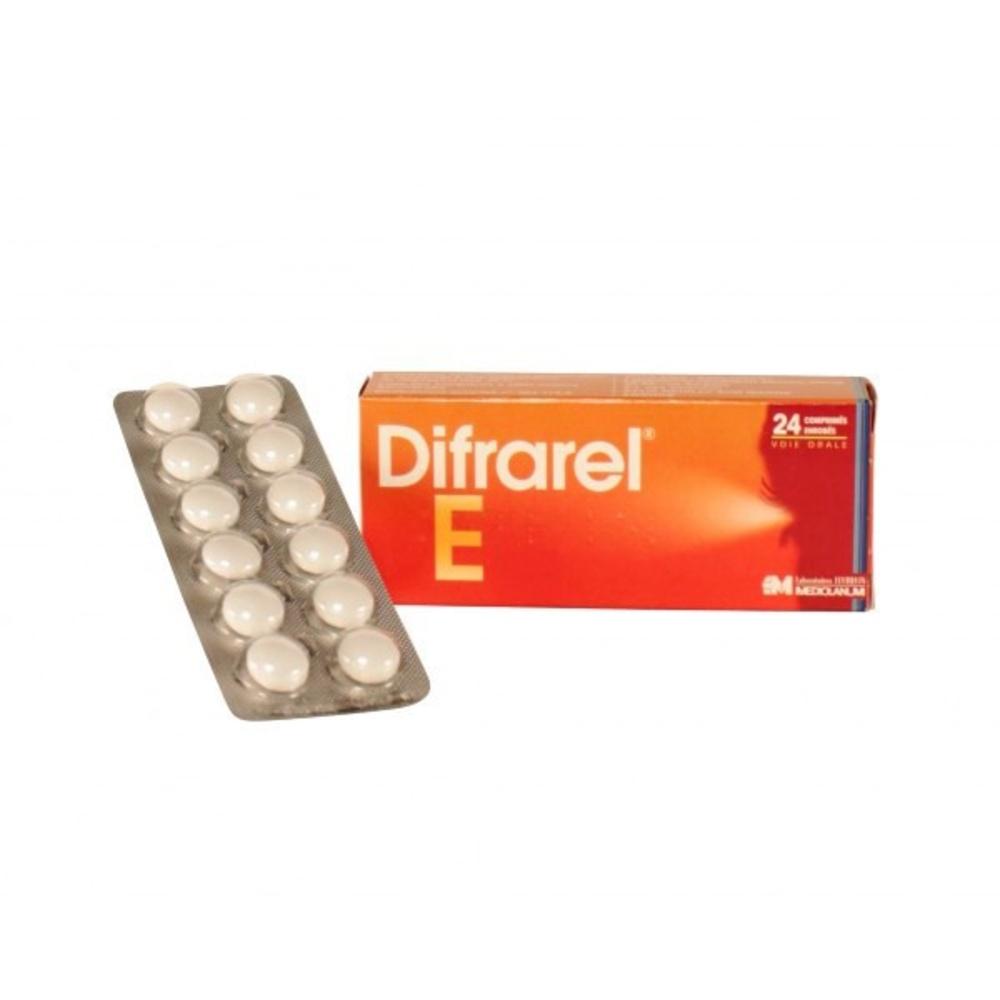 Difrarel e - 24 comprimés - laboratoires leurquin mediolanum -206944