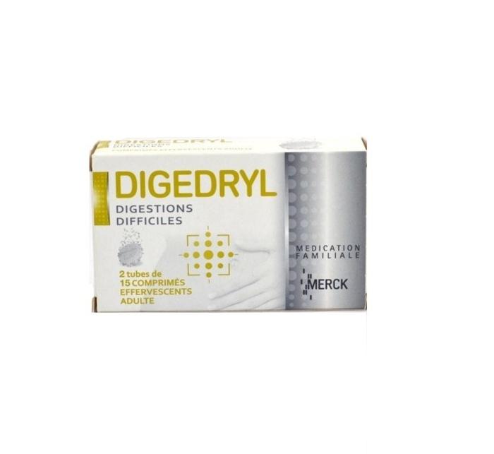Digedryl - 2 x 15 comprimés effervescents Merck-193083