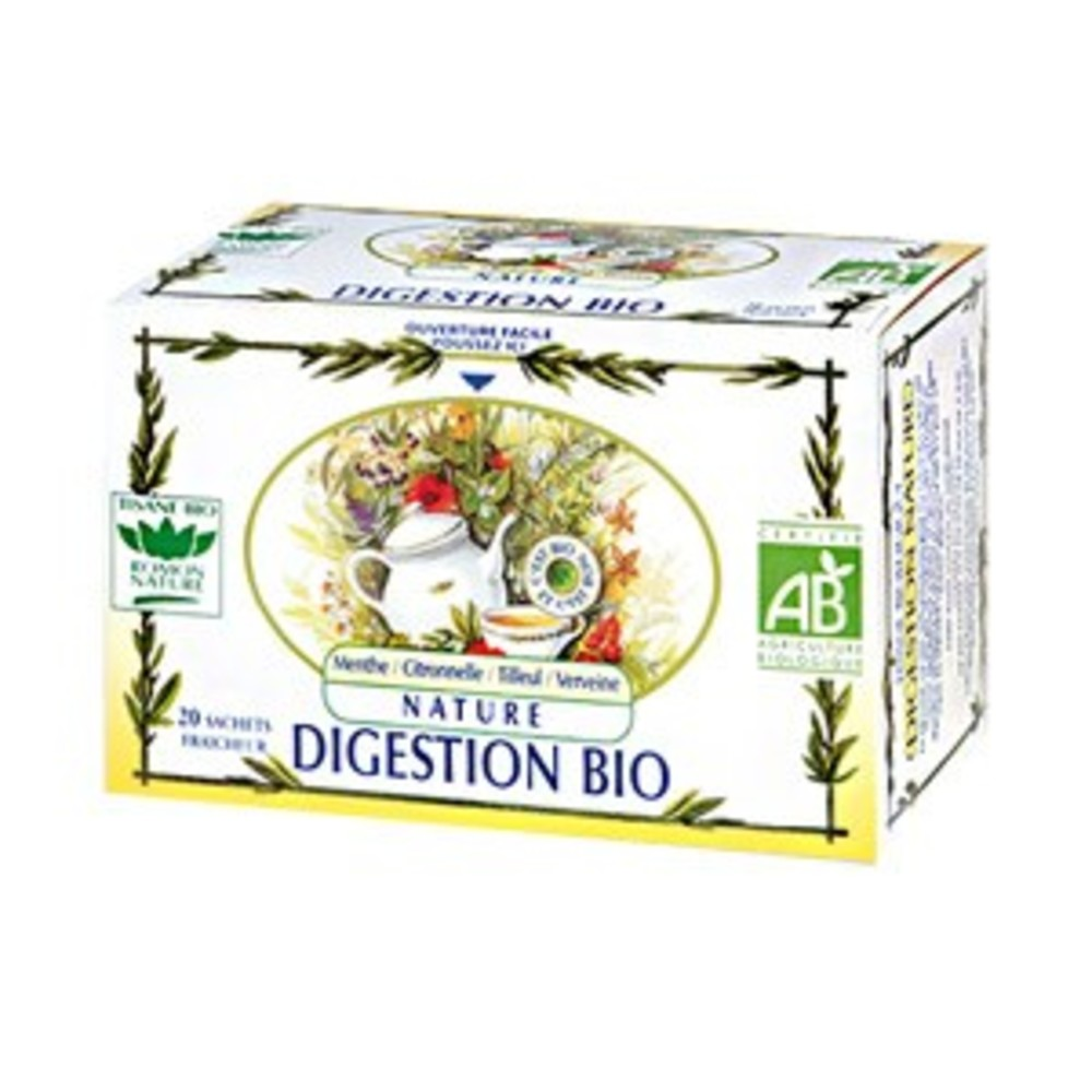 Digestion nature - 20.0 unites - tisanes complexes bio - romon nature -16170
