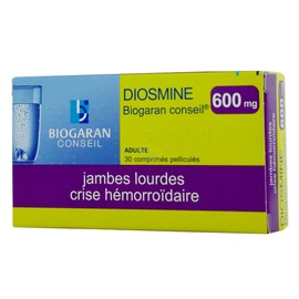 Diosmine  conseil 600mg - biogaran -192490