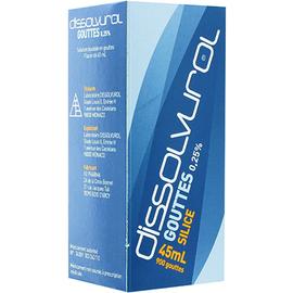 Dissolvurol gouttes silicium 100ml - dissolvurol -214839