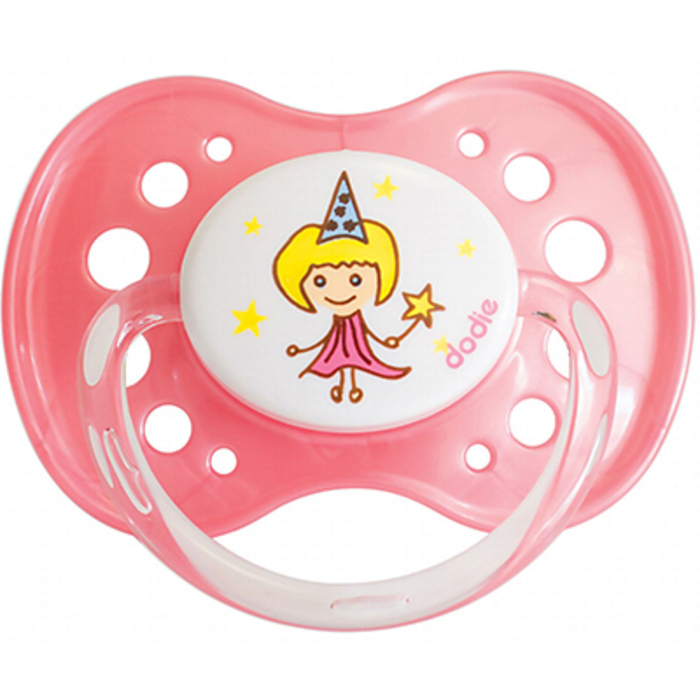 Dodie sucette anatomique silicone +18mois fée Dodie-144857