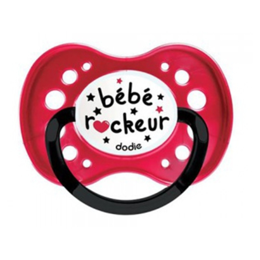 DODIE Sucette Anatomique Silicone +18mois X2 Rock - Dodie -206064