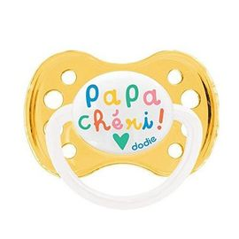 Dodie sucette anatomique silicone +6mois papa chéri - dodie -144850