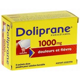 Doliprane 1000mg - 8 sachets-dose - 5.0 g - sanofi -192228