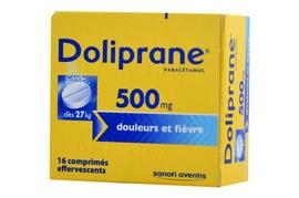 Doliprane 500mg - 16 comprimés effervescents - sanofi -192137