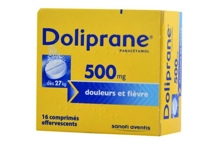 Doliprane 500mg - 16 comprimés effervescents Sanofi-192137