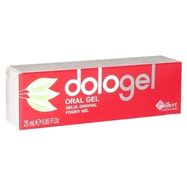 Dologel gel gingival 25ml - 25.0 ml - gilbert -190133