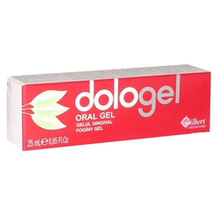 Dologel gel gingival 25ml Gilbert-190133