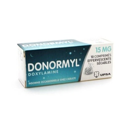 Donormyl - 10 comprimés effervescents - upsa -192824