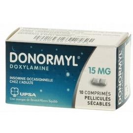 Donormyl - 10 comprimés - upsa -192968
