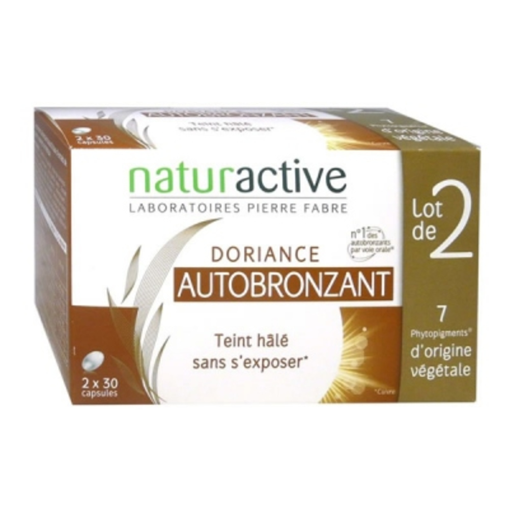 Doriance autobronzant - lot de 2 - doriance -148044