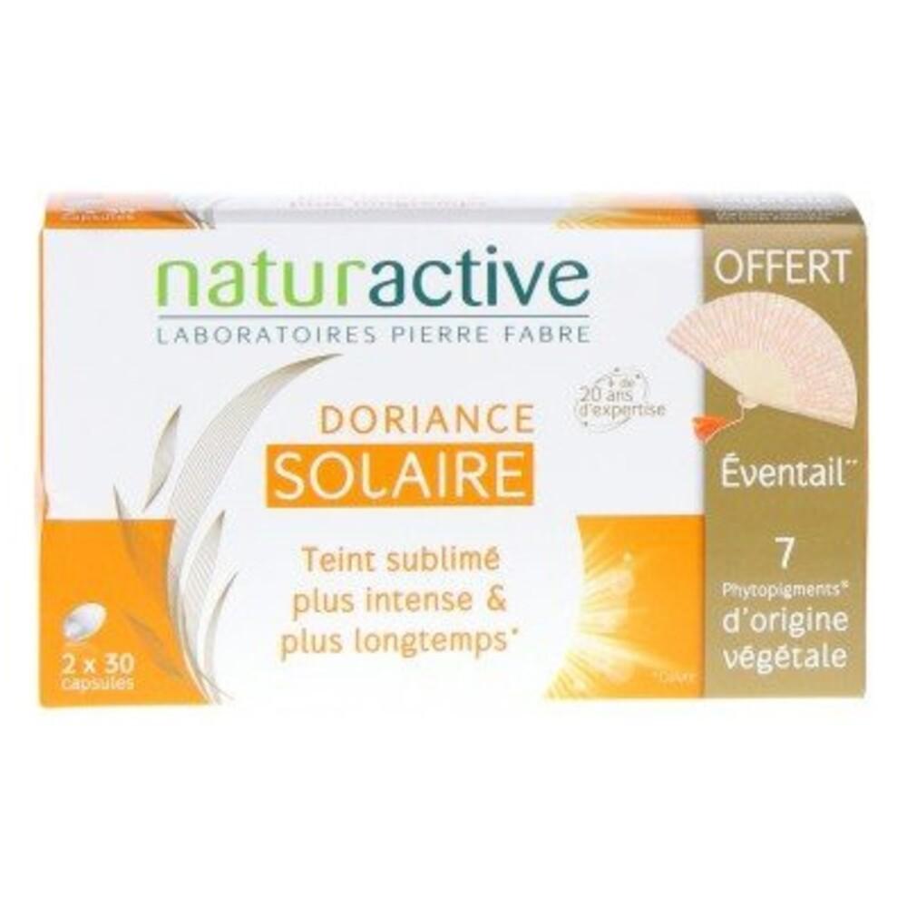Doriance solaire 2x30 capsules + eventail offert - doriance -213987
