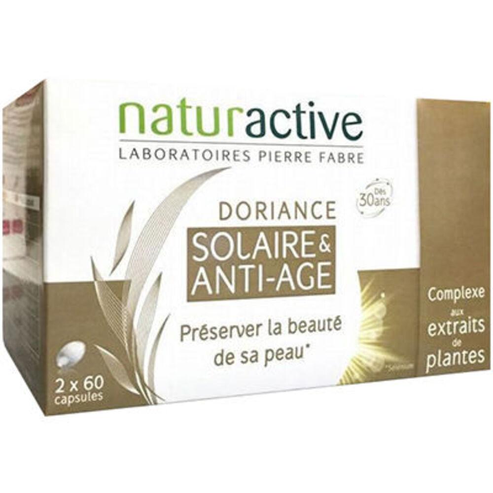 Doriance solaire & anti-age 2x60 capsules - doriance -206686