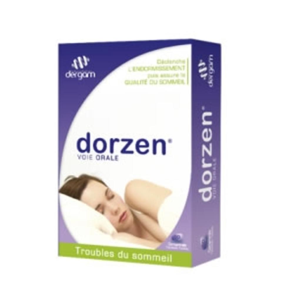 Dorzen - 60 comprimes - dergam -197186