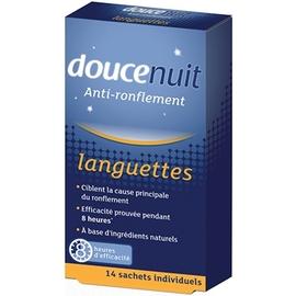 Doucenuit anti-ronflement languettes x14 - 14.0 unites - anti-ronflement - douce nuit Anti-Ronflement-7209