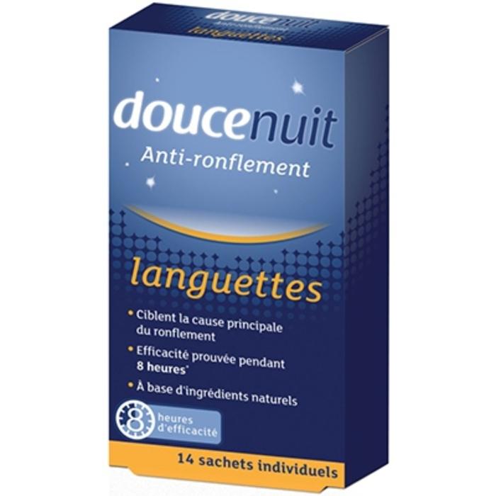 Doucenuit anti-ronflement languettes x14 Douce nuit-7209