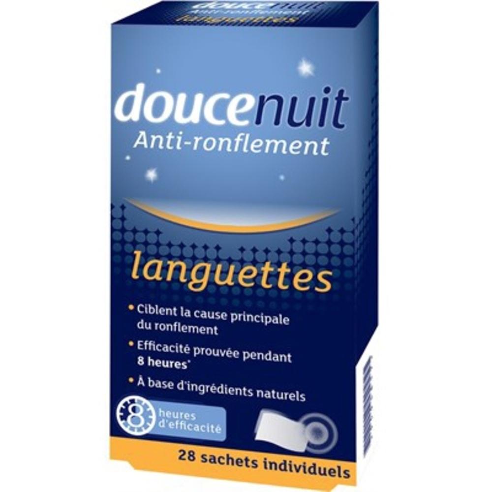 Doucenuit anti-ronflement languettes x28 - 28.0 unites - anti-ronflement - douce nuit Douce nuit anti ronflement Languettes-111460